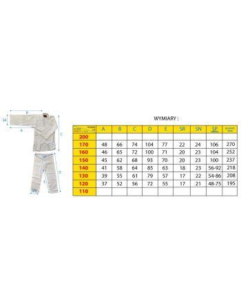Kimono Enero Judo 140cm
