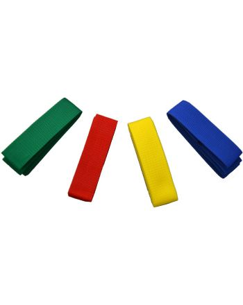 Szarfy gimnastyczne do zabaw szkolne 10szt żółta