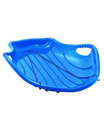 Ślizg plastikowy shell big niebieski