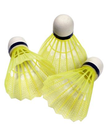 Lotka badminton nylon SPARTAN Junior 3szt