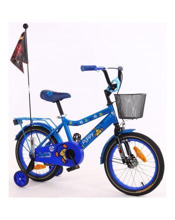 Rower dziecięcy 16 cali z wyposażeniem Enero Puppy