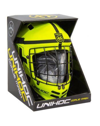 Kask bramkarski do Unihokeja Unihoc Shield