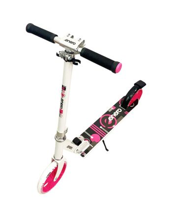 Hulajnoga Enero 200mm Angel biało różowa