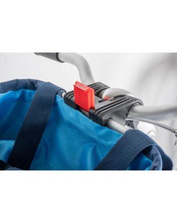 Koszyk rowerowy DUNLOP przód mocowany na click 15L