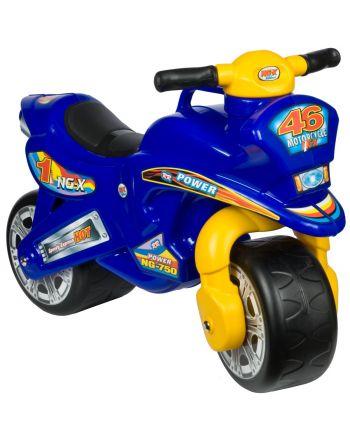 Motorek Biegowy Jeździk Speed Enero 68X29X49/32Cm Żółto Niebieski