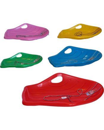 Ślizg plastikowy shell big zielony