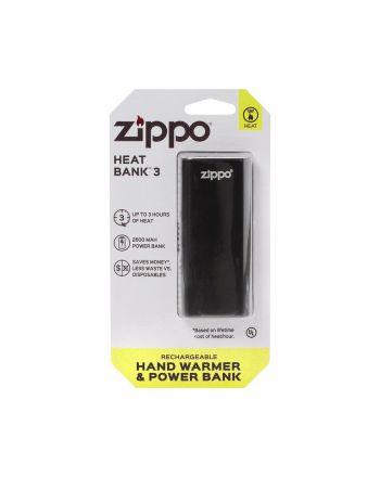Heatbank 3 – Ładowalny ogrzewacz rąk i Power Bank czarny