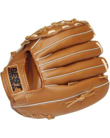 Rękawica baseball skórzana dla dzieci Best Sporting lewa