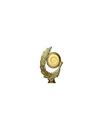 Figurka Plastikowa Ogólnie - 50Mm Złoty , Plastik Z Wieńcem  F78/G