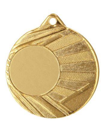 Medal Z Miejscem Na Wklejkę Złoty Śr 50Mm