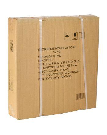 Obciążenie betonowe kompozytowe 15kg Eb Fit Fi30