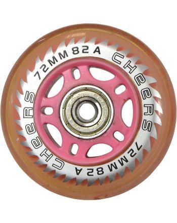 Kółko do rolek PU 72mm z łożyskiem