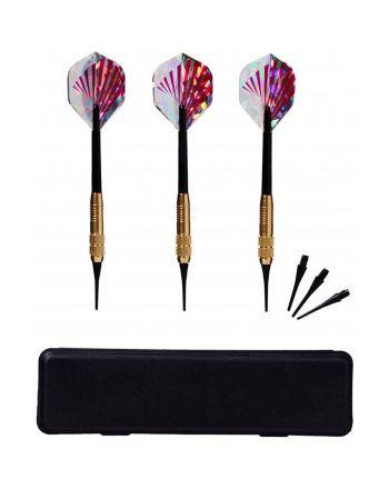 Rzutki lotki metalowe dart KNIGHT 3szt Best Sporting Bezpieczne