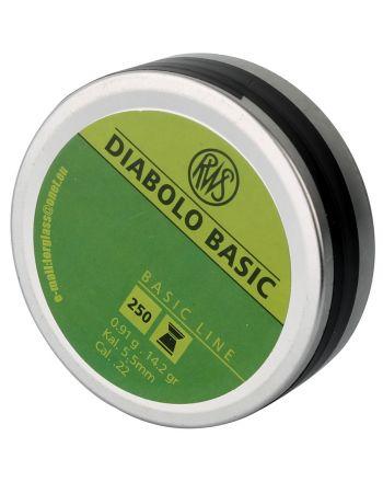 Śrut 5,5mm Diabolo Basic